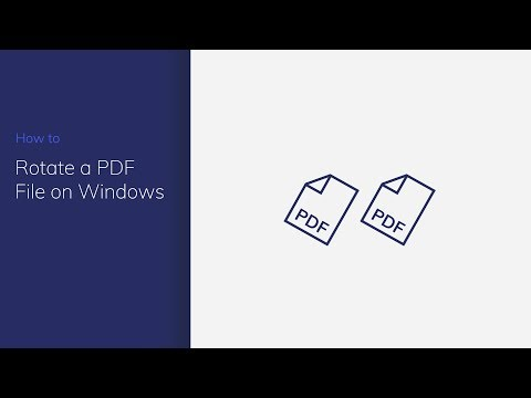 Rotate a PDF File on Windows with PDFelement