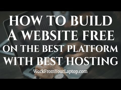 How to Build Your Own Website Free on the Best Free Website Builder