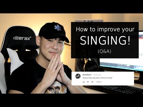 HOW TO SING! - Answering Your Questions (Q&A)
