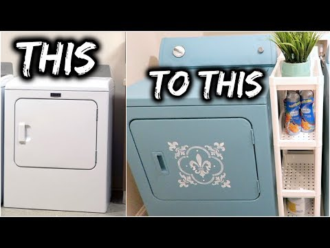 WEEKLY REWIND VLOG‼️EP3//PAINTED MY WASHER & DRYER😬