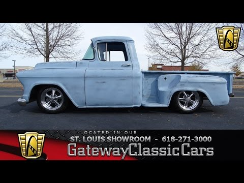 1957 Chevrolet Pickup Stock #7103 Gateway Classic Cars St. Louis Showroom