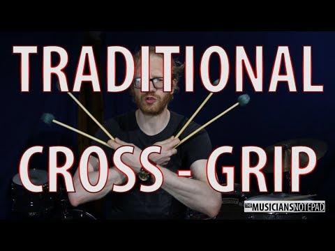 4 Mallet Traditional Cross Grip Tutorial