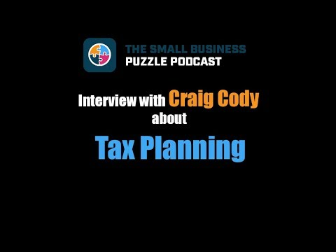 Interview with Craig Cody about Tax Planning
