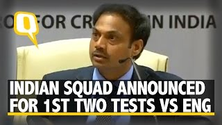 The Quint: Chairman of Selectors MSK Prasad on Rohit