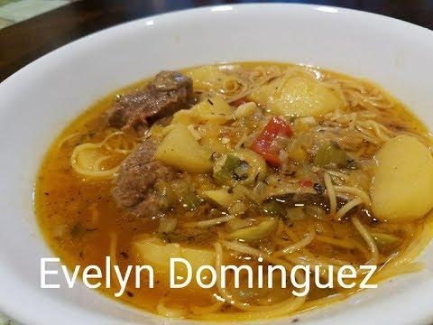 Puerto Rican Beef Soup