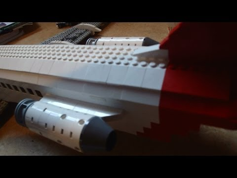 How to build LEGO plane engines