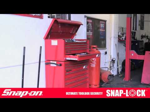 Snap-on UK Snap-Lock toolbox security