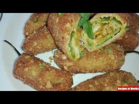 Chicken Stuffed Chilli,Chilli Chicken Bites Recipe,Peri Bites,Ramadan recipe