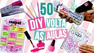 50 IDEIAS VOLTA ÀS AULAS | pra você se inspirar