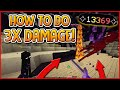 HYPIXEL SKYBLOCK How To Do 3X MORE DAMAGE ONE TAP