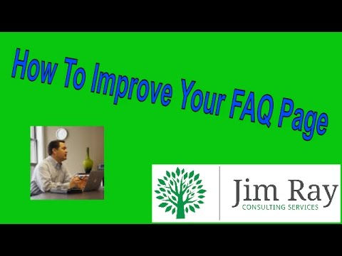 How to Improve Your FAQ Page
