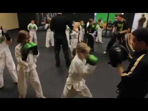 Amazing Kids White Belt Test at Premier Martial Arts