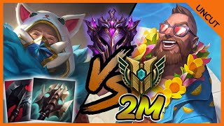 MASTERS URGOT VS 2M+ MASTERY GANGPLANK FULL GAMEPLAY SEASON 11 - League of Legends