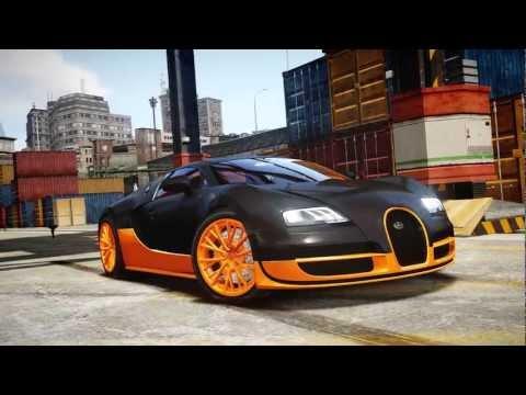 Grand Theft Auto IV - Bugatti Veyron Super Sport