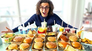 Download I BOUGHT EVERYTHING FROM THE MCDONALDS MENU ! * 30,000 Calories * Video