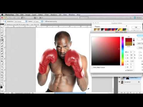 Photoshop: Change Black to Color/Gradient Map