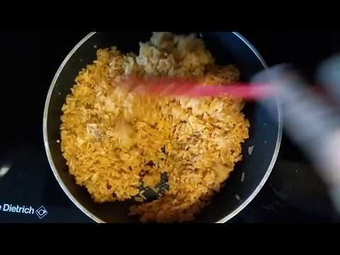 How to cook SINANGAG NA KANIN in SAMBAL | Filipino Garlic Fried Rice in Malay chili paste