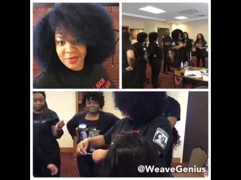 Hair Extension Course #WeaveGenius