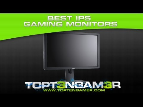 Best IPS Gaming Monitors With Low Response Time / Input Lag