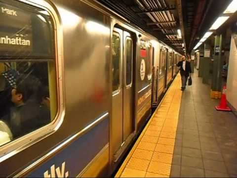 New York City Subway Train 42ND Street Times Square