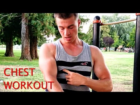How to get a BIG CHEST Bodyweight Workout for Home