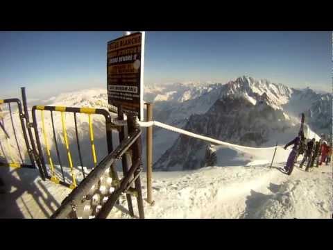 Skiing - GoPro HD Fun in Saalbach,Tignes,La Plagne & Vallée blanche