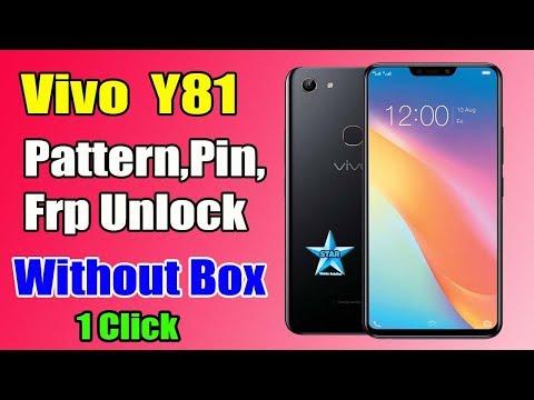 Vivo Y81 Pattern,FRP Unlock | Vivo (1812) Pin,Password