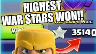 Highest war star holders in clash of clans Videos - 9tube tv