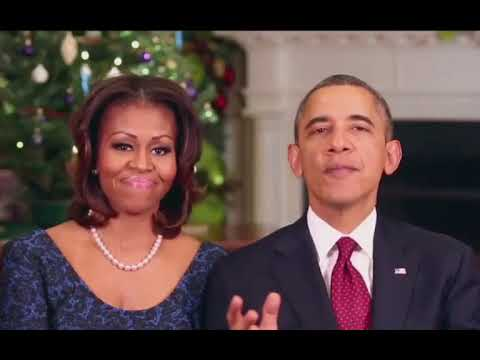 President Obama wishing everyone a Merry Christmas