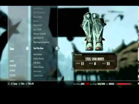 Skyrim Hidden Chest Under Whiterun (Infinite Gold)