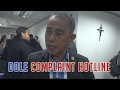 Department of Labor and Employment (DOLE) Complaint Hotline 2017 review