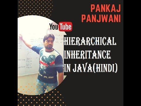 Hierarchical Inheritance in Java By Pankaj Panjwani (YCT Academy) | Hindi