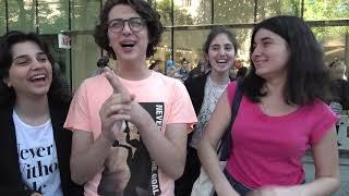 Young Georgians Speak English Better Than Russian  - a Walk in Tbilisi Georgia