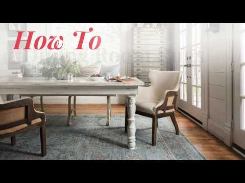 How To Choose The Right Size Rug For Your Dining Room