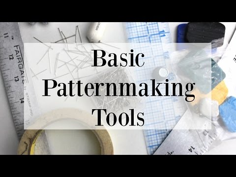 Basic Patterning Tools Every Pattern Maker Should Have