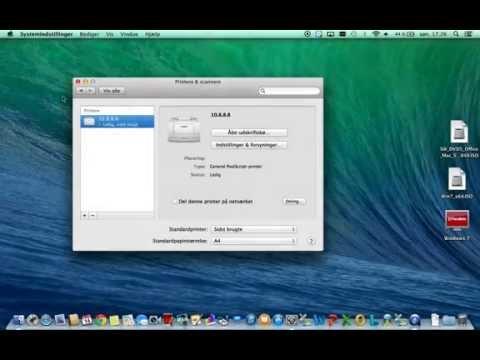 installer printer mac