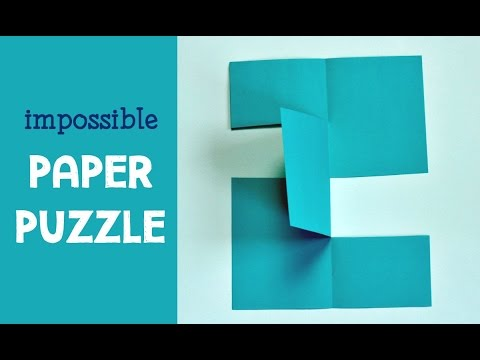 Impossible Paper Puzzle Trick
