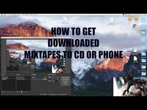 HOW TO PUT MIXTAPE ON A CD USING ITUNES - MAC OR PC