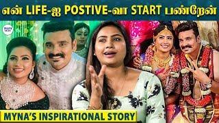 MYNA NANDHINI Emotional - 100 ரூபாயோட CHENNAI-க்கு வந்தேன்   Yogi   LittleTalks