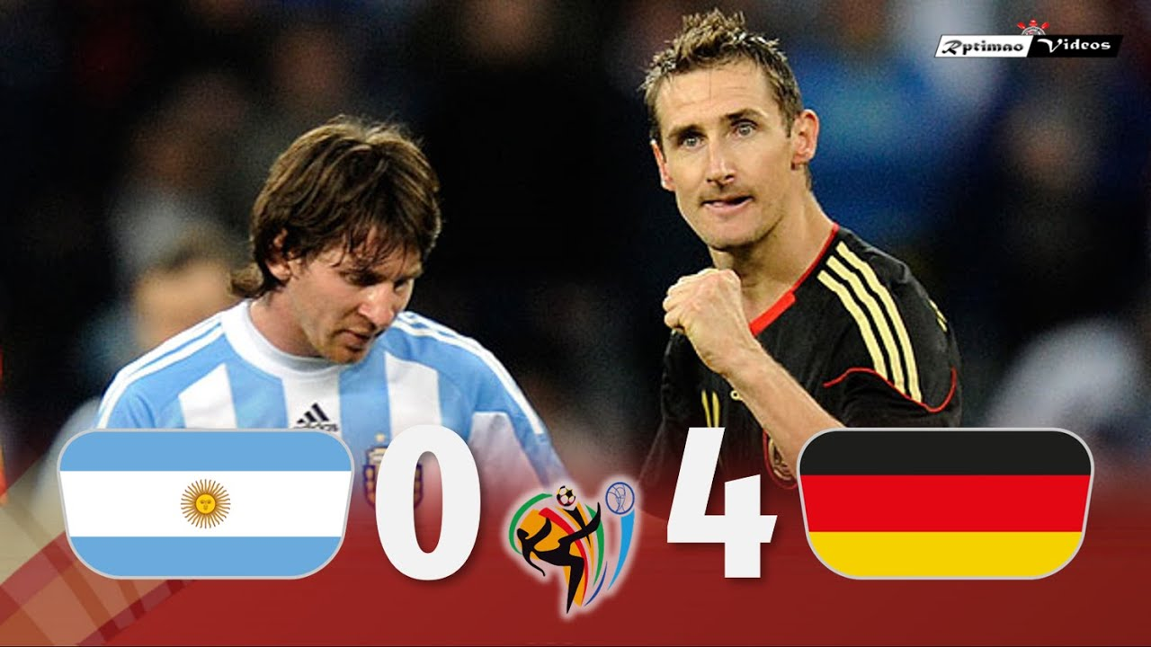 Argentina 0 x 4 Germany ● 2010 World Cup Extended Goals & Highlights HD