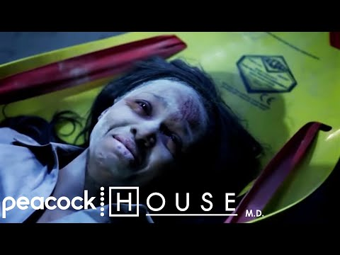 House Amputates A Trapped Woman | House M.D.