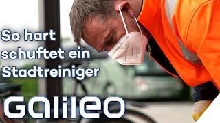 Kilogrammweise Hundekot & störrische Kaugummis: So hart ist der Job bei der Stadtreinigung | Galileo