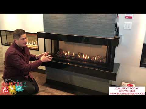 Valor LX2 Multi Sided Linear Double Corner Gas Fireplace Product Review