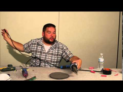 best how to make larp shield from foam Part2 of 2