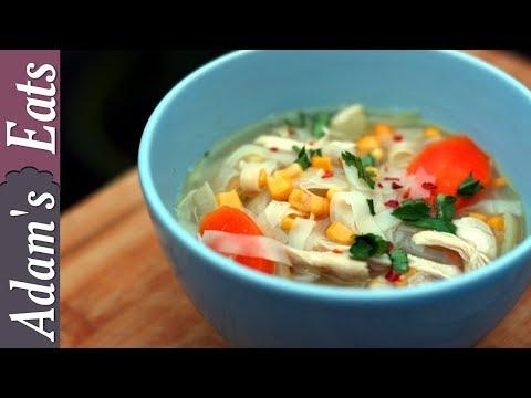 Chicken noodle soup | Healthy recipes