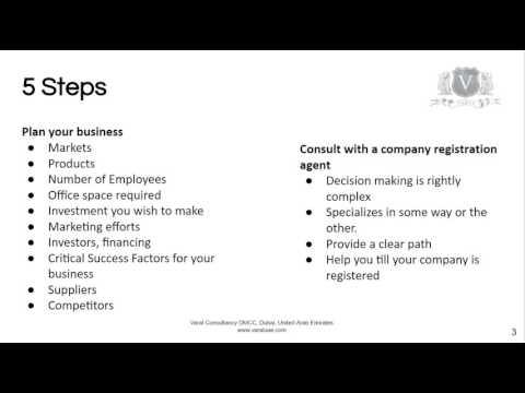 Trading Company Dubai | A 5 Step Guide To Start UAE Trade
