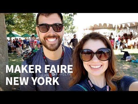 Maker Faire New York 2017 (Vlog)