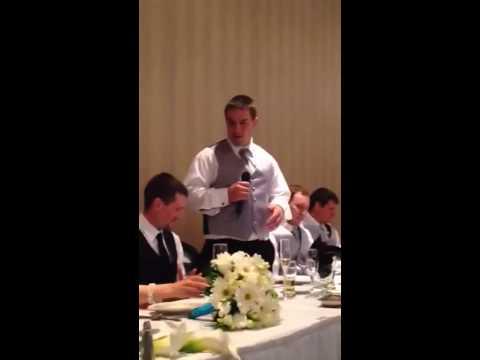 Short but funny best man speech