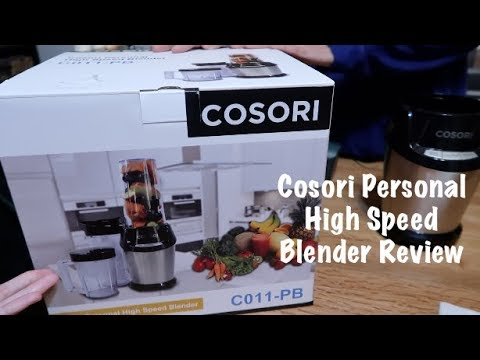 COSORI Personal High Speed Blender C011-PB Review