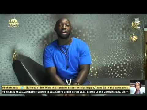 Big Brother Hotshots - Biggie asks